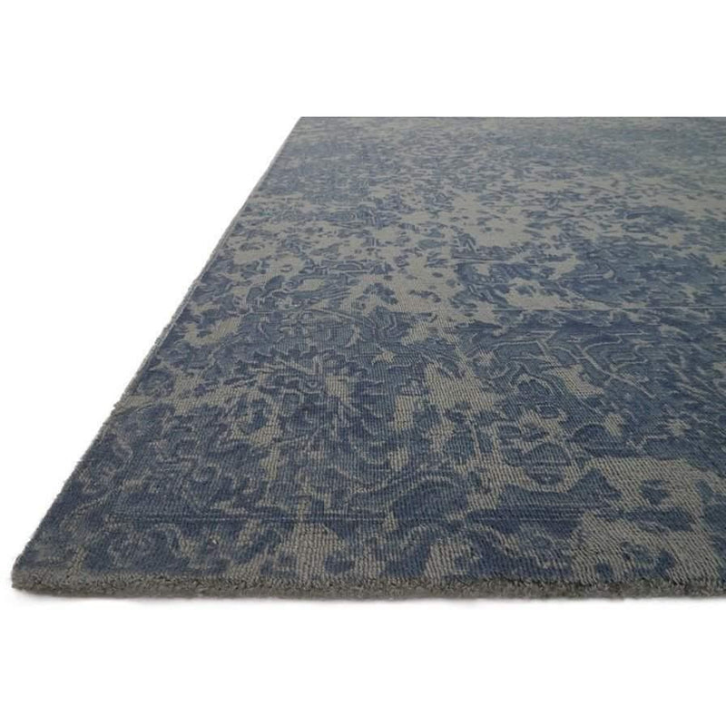 Joanna Gaines Lily Park Rug Collection - LP-01 BLUE-Loloi Rugs-Blue Hand Home