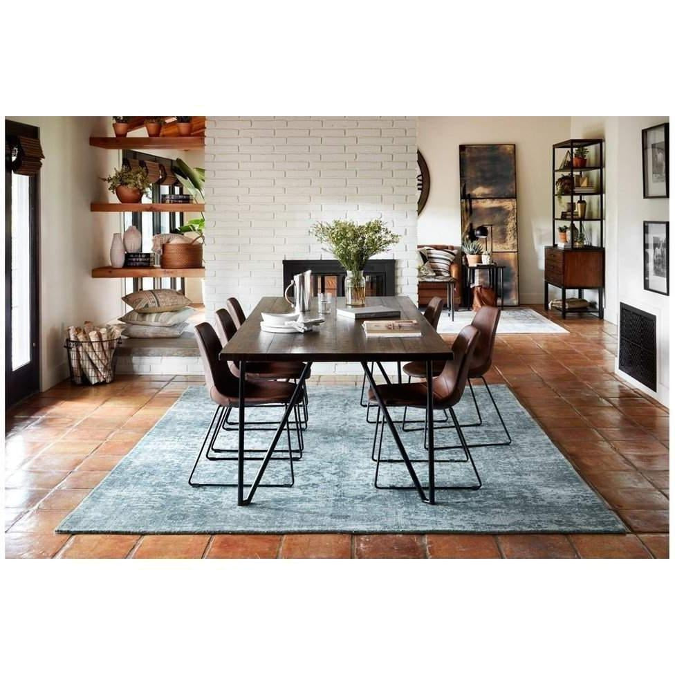 Joanna Gaines Lily Park Rug Collection - LP-03 TEAL-Loloi Rugs-Blue Hand Home