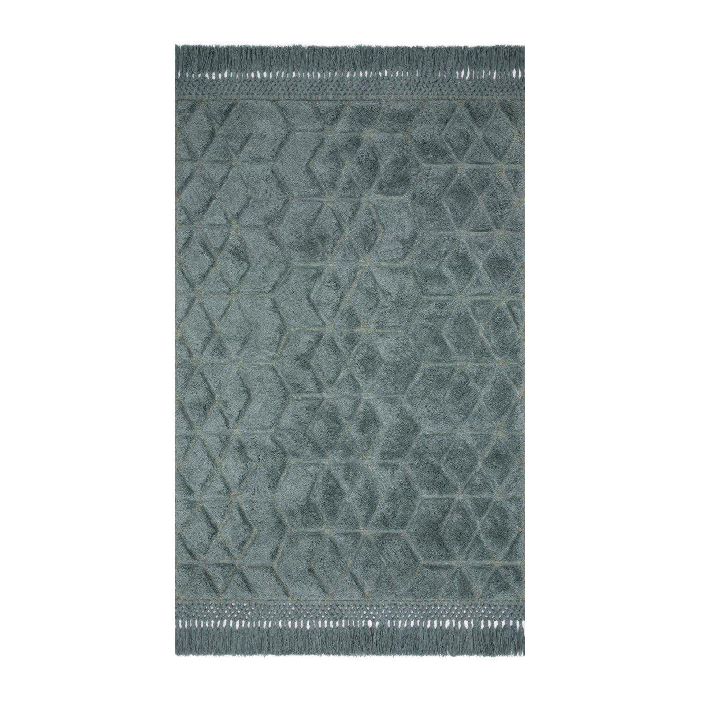 Joanna Gaines Laine Rug Collection - LAI-02 Slate-Loloi Rugs-Blue Hand Home