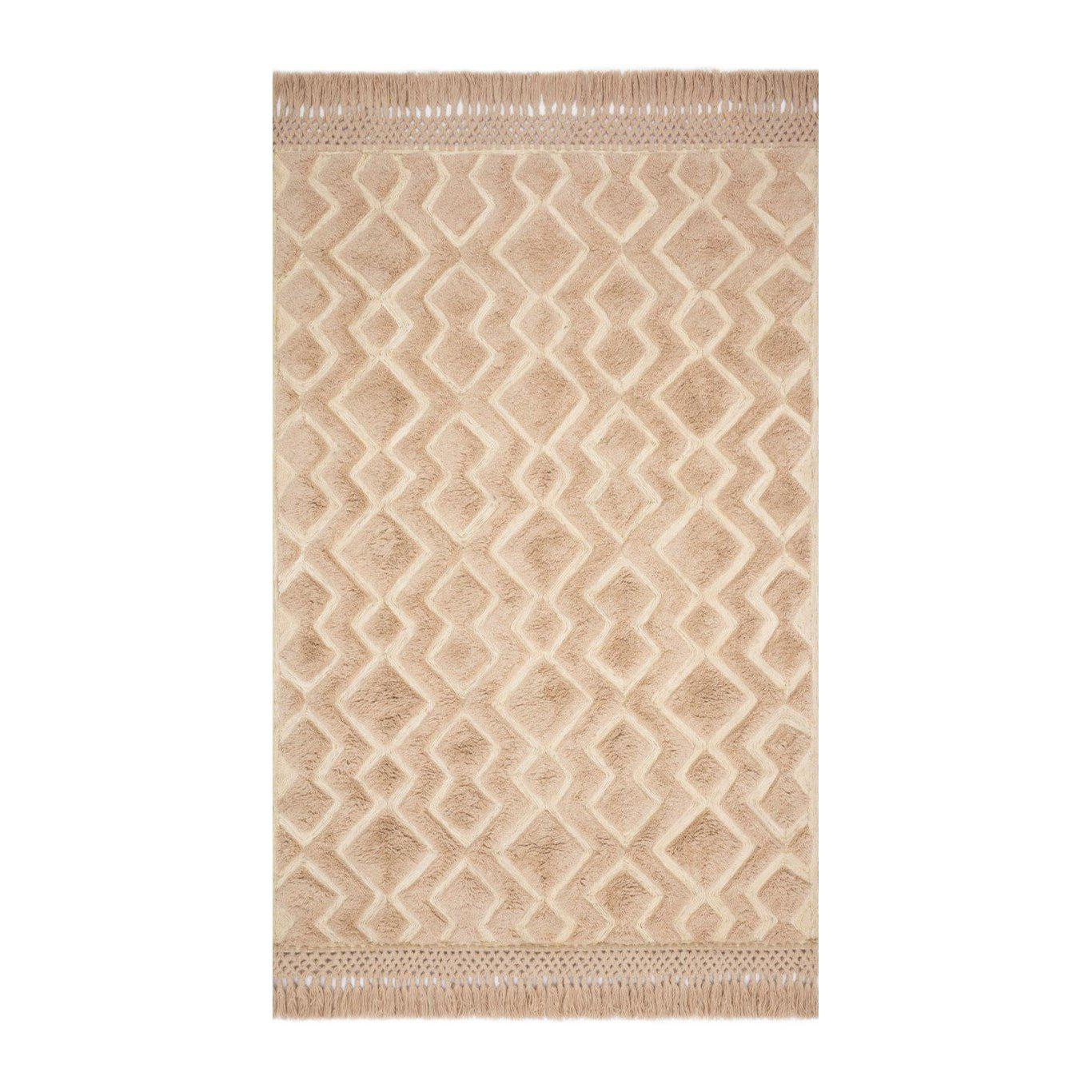 Joanna Gaines Laine Rug Collection - LAI-03 Blush/Natural-Loloi Rugs-Blue Hand Home