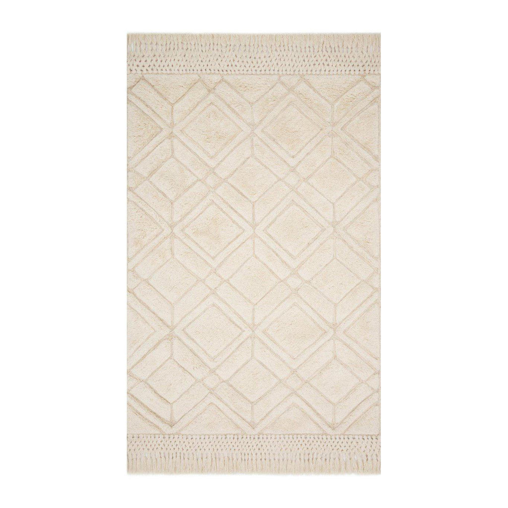 Joanna Gaines Laine Rug Collection - LAI-01-Ivory-Loloi Rugs-Blue Hand Home