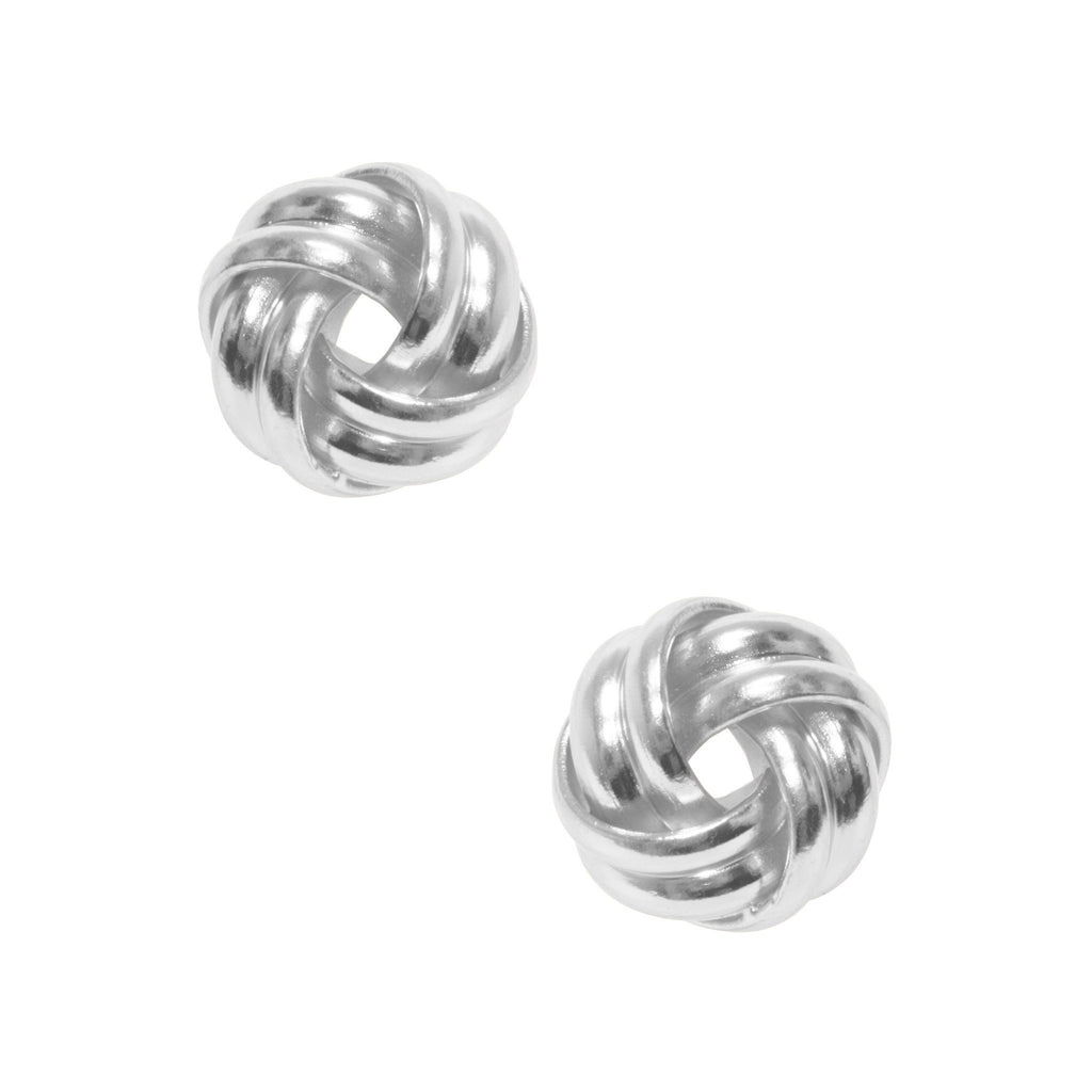 Karine Sultan Love Knot Stud Earrings-Karine Sultan-Blue Hand Home