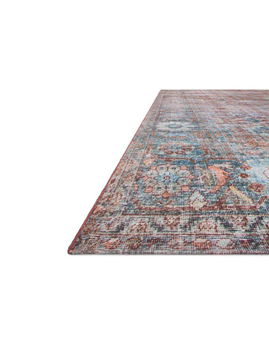 Joanna Gaines Lucca Rug Collection - LF-11 Brick/Ocean