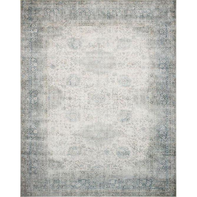 Joanna Gaines Lucca Rug Collection - LF-12 Mist/Ivory-Loloi Rugs-Blue Hand Home