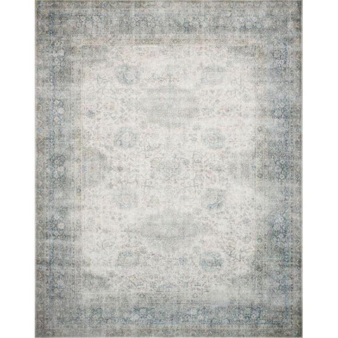 Joanna Gaines Lucca Rug Collection - LF-12 Mist/Ivory