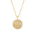 Anna Beck Medallion Pendant Necklace - Gold