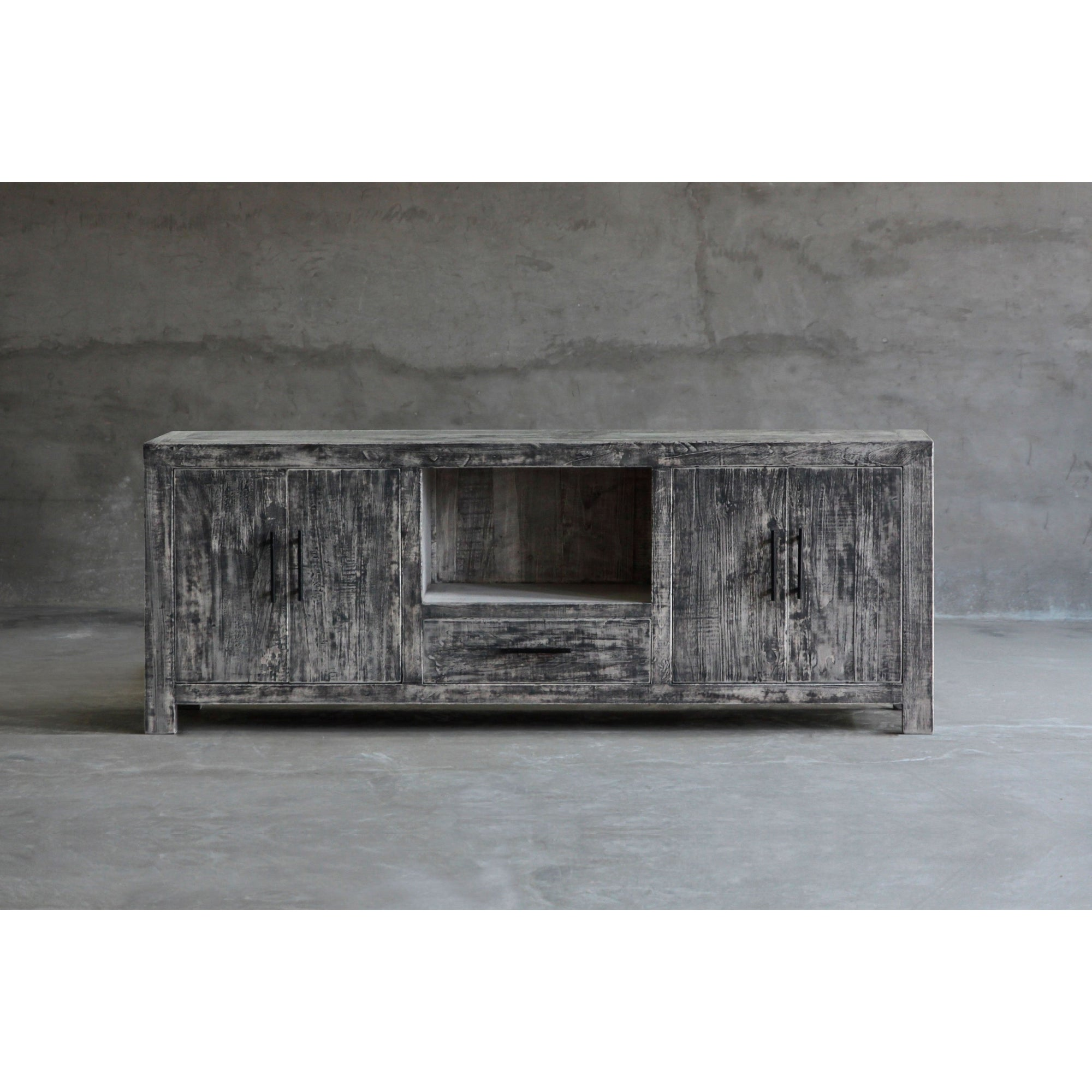 Reclaimed Elm Media Console