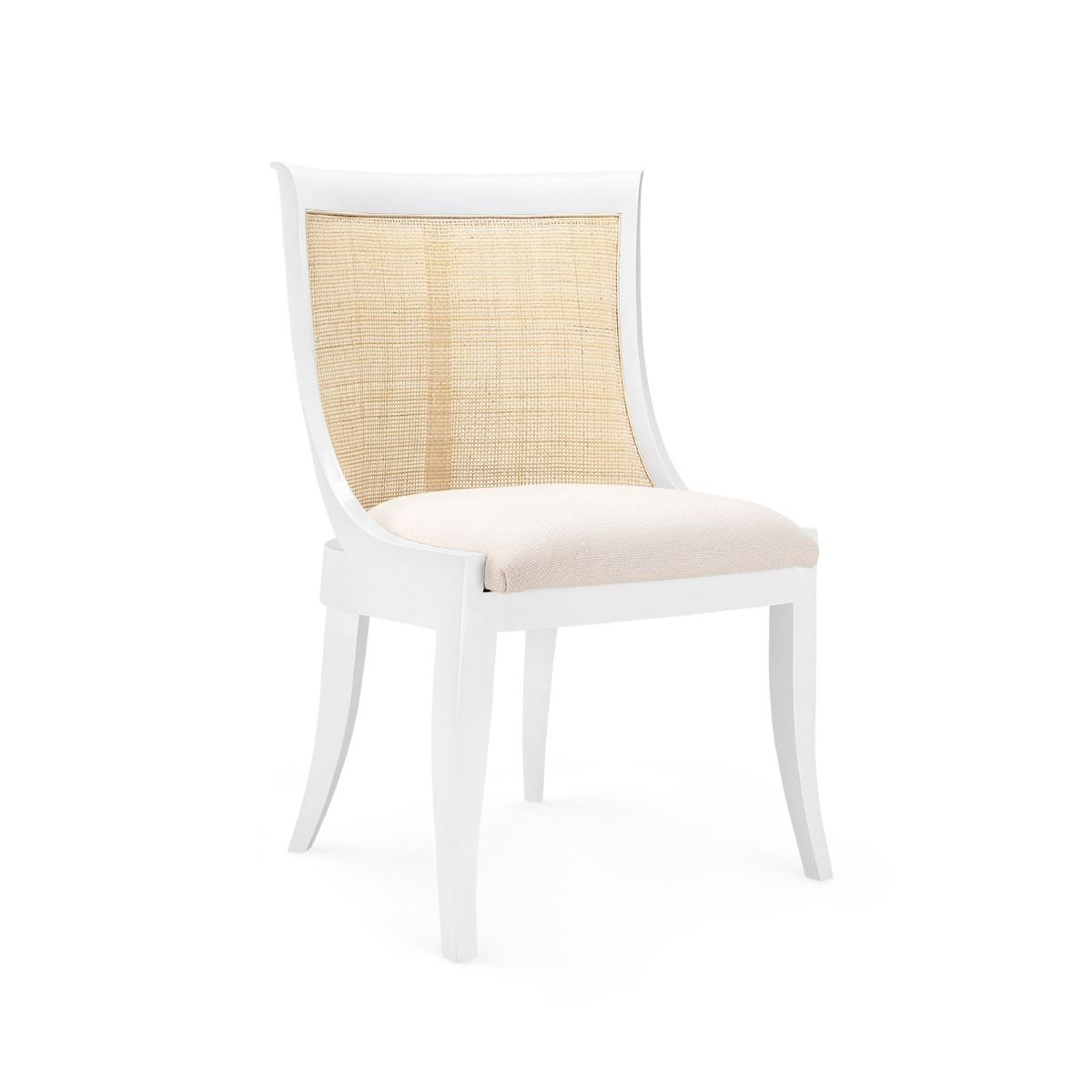 Bungalow 5 - MONACO ARMCHAIR in WHITE