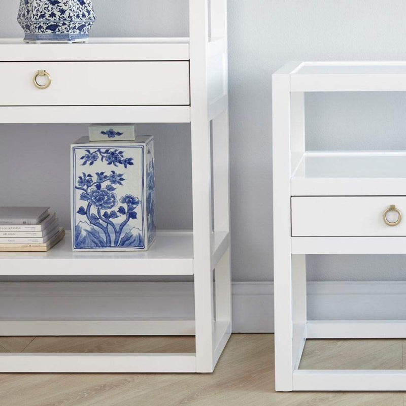 Bungalow 5 - NEWPORT ETAGERE in WHITE-Bungalow 5-Blue Hand Home