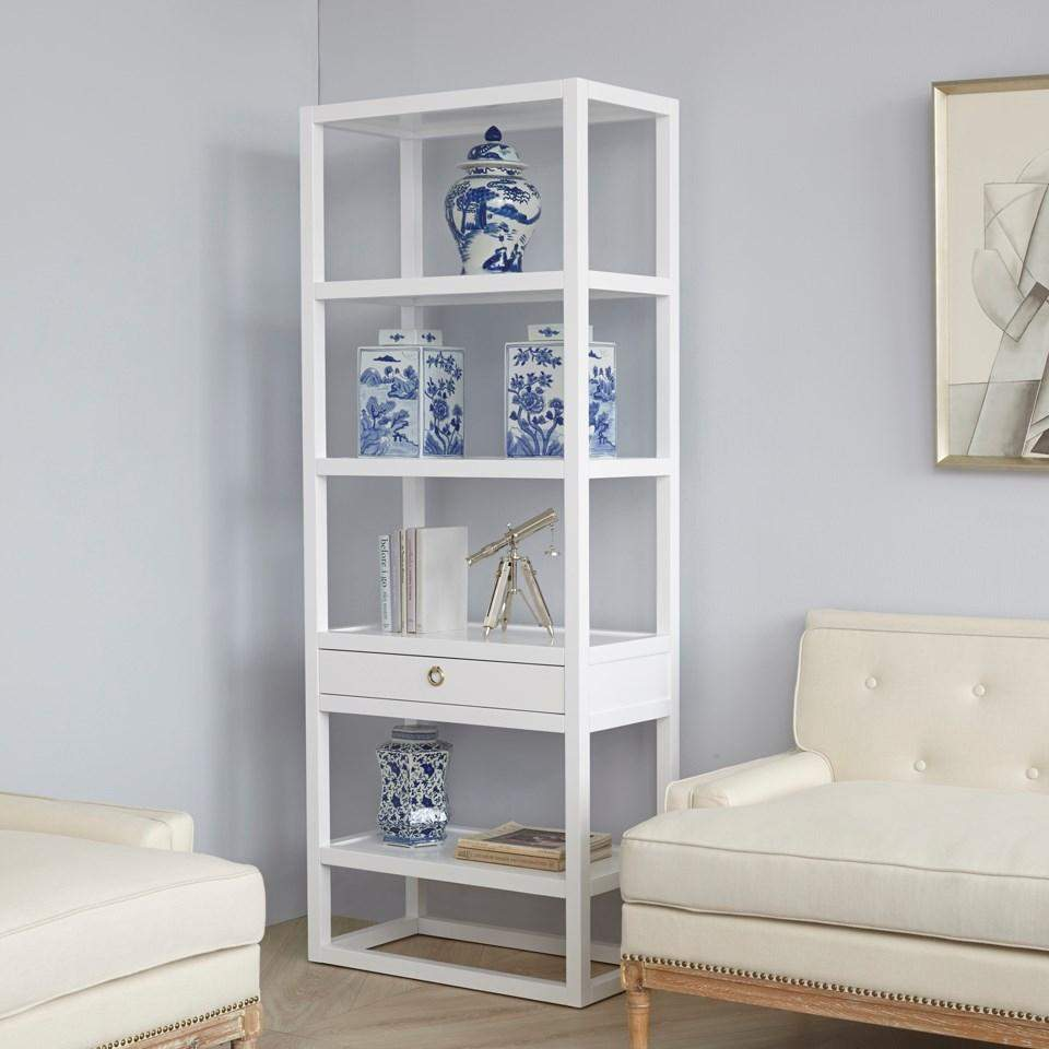 Bungalow 5 - NEWPORT ETAGERE in WHITE