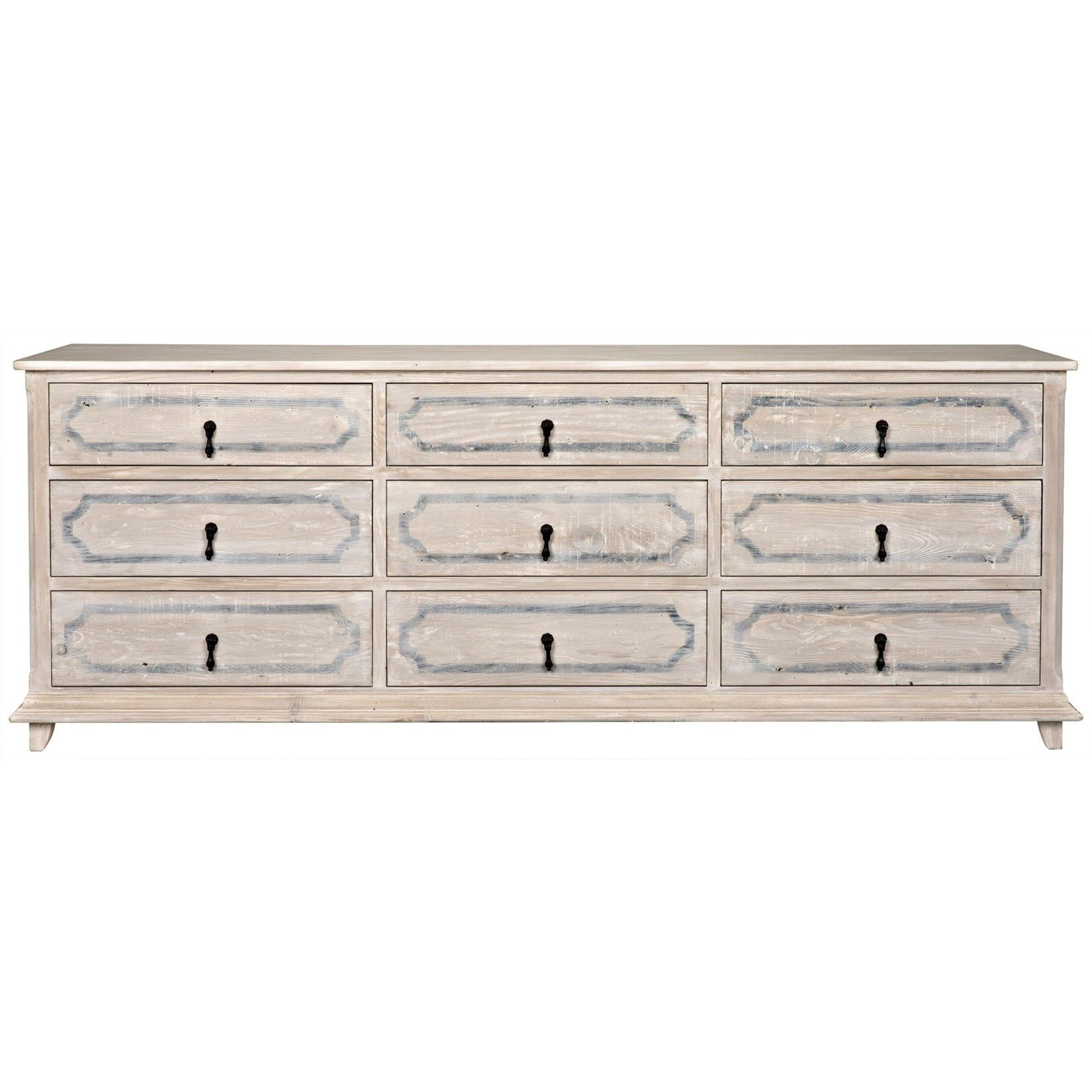 CFC Furniture Livingston 9-Drawer Dresser-CFC Furniture-Blue Hand Home