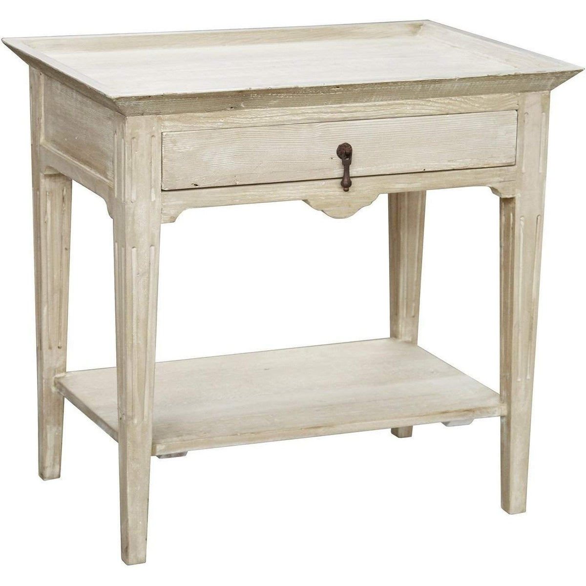 CFC Furniture Lily Nightstand-CFC Furniture-Blue Hand Home