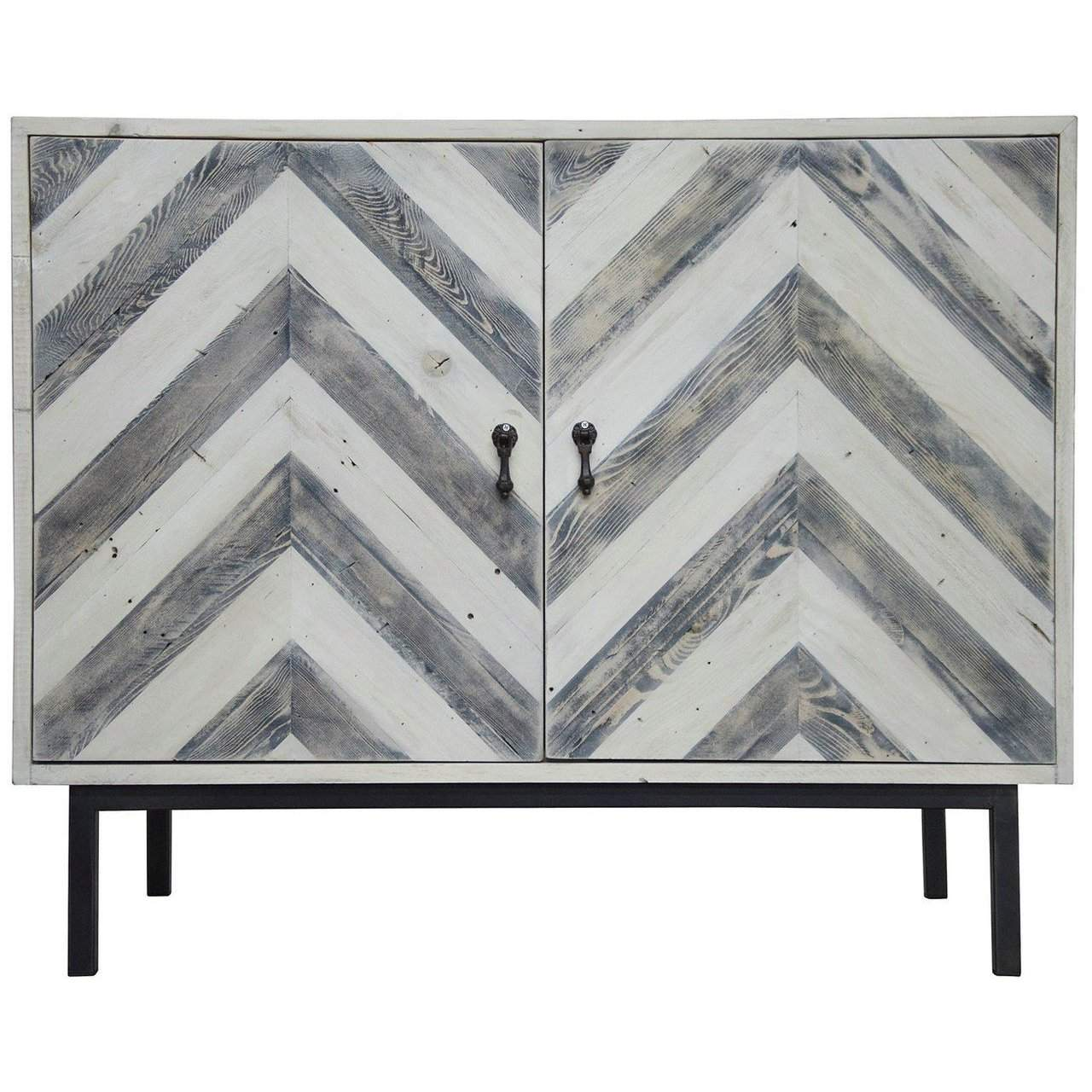 CFC Furniture  Chevron Buffet - Blue Hand Home