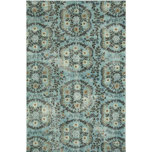 Jaipur Artisan Row Kai Rugs - Aruba Blue and Indigo