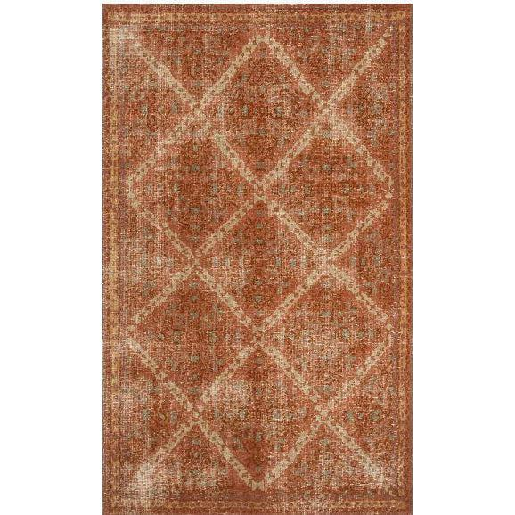 Jaipur Artisan Row Kai Rugs - Russet Red Ochre-Jaipur Living-Blue Hand Home