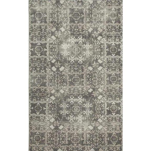 Jaipur Artisan Row Kai Rugs- Charcoal Slate and Ashwood