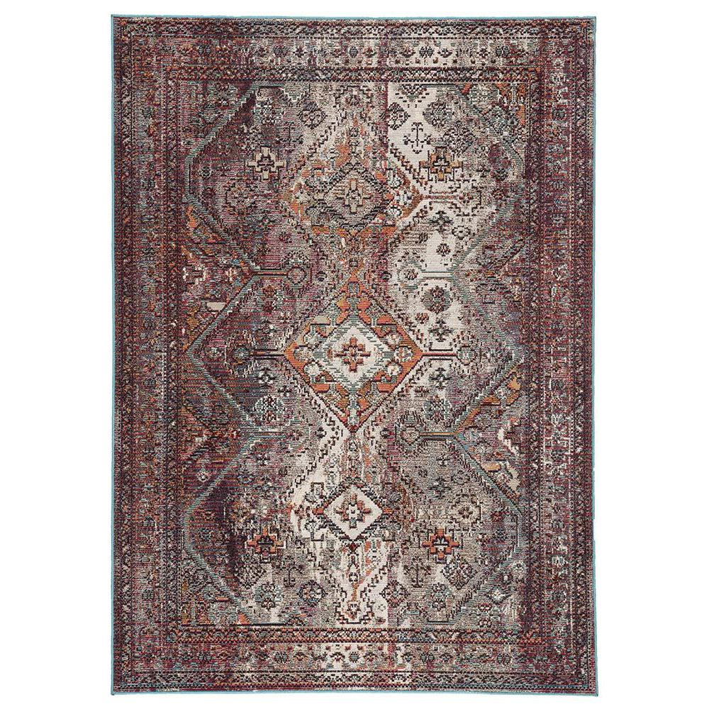 Jaipur Peridot Rugs - Feather Gray/Samba-Jaipur Living-Blue Hand Home