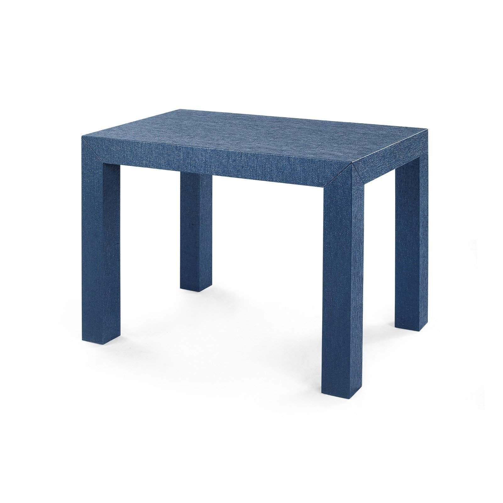 bungalow 5 parsons side table in navy blue. Black Bedroom Furniture Sets. Home Design Ideas