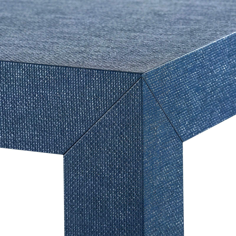 Bungalow 5 - PARSONS COFFEE TABLE. in NAVY BLUE-Bungalow 5-Blue Hand Home