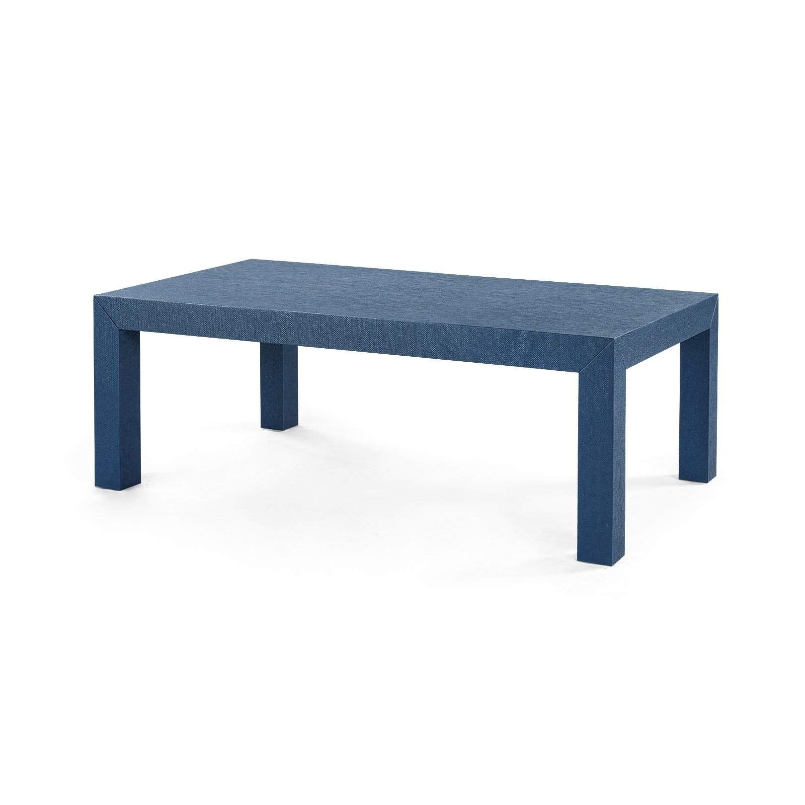 Bungalow 5 - PARSONS COFFEE TABLE. in NAVY BLUE