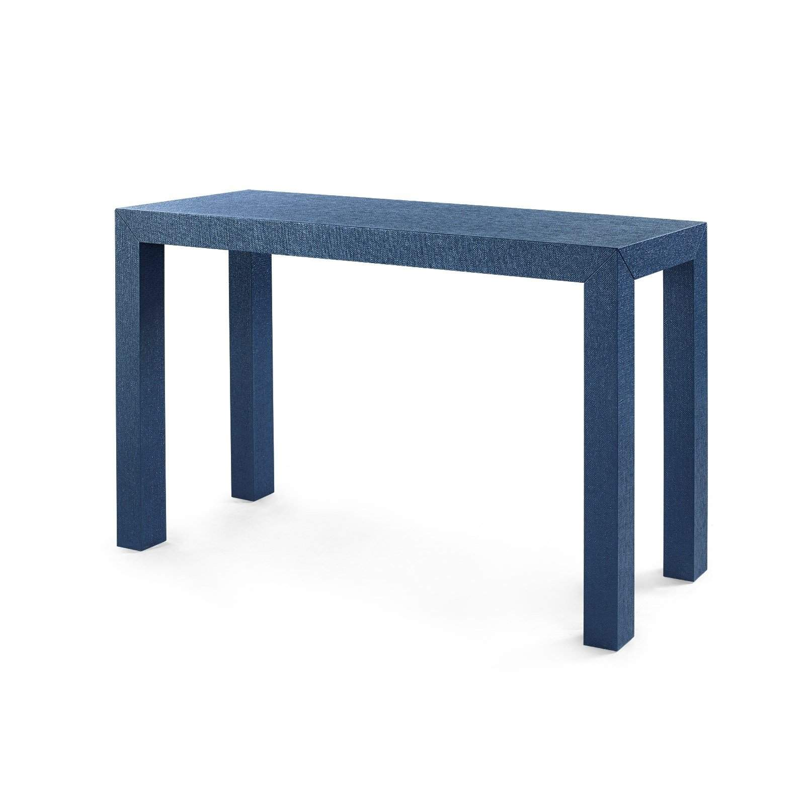 bungalow 5 parsons console table in navy blue. Black Bedroom Furniture Sets. Home Design Ideas