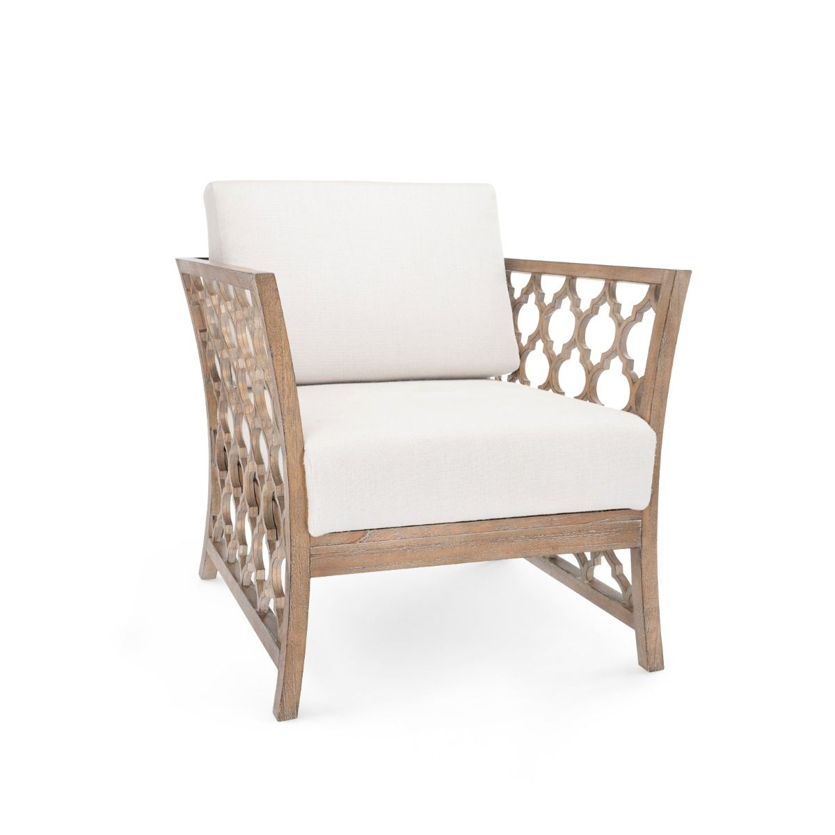 Bungalow 5 - PARKAN CLUB CHAIR, DRIFTWOOD-Bungalow 5-Blue Hand Home