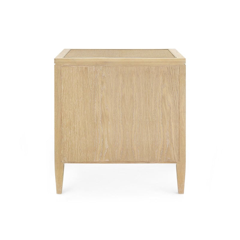 Bungalow 5 - PAULINA 3-DRAWER SIDE TABLE, NATURAL-Bungalow 5-Blue Hand Home