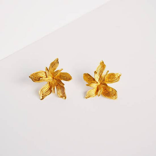 Penelope Earrings - Gold