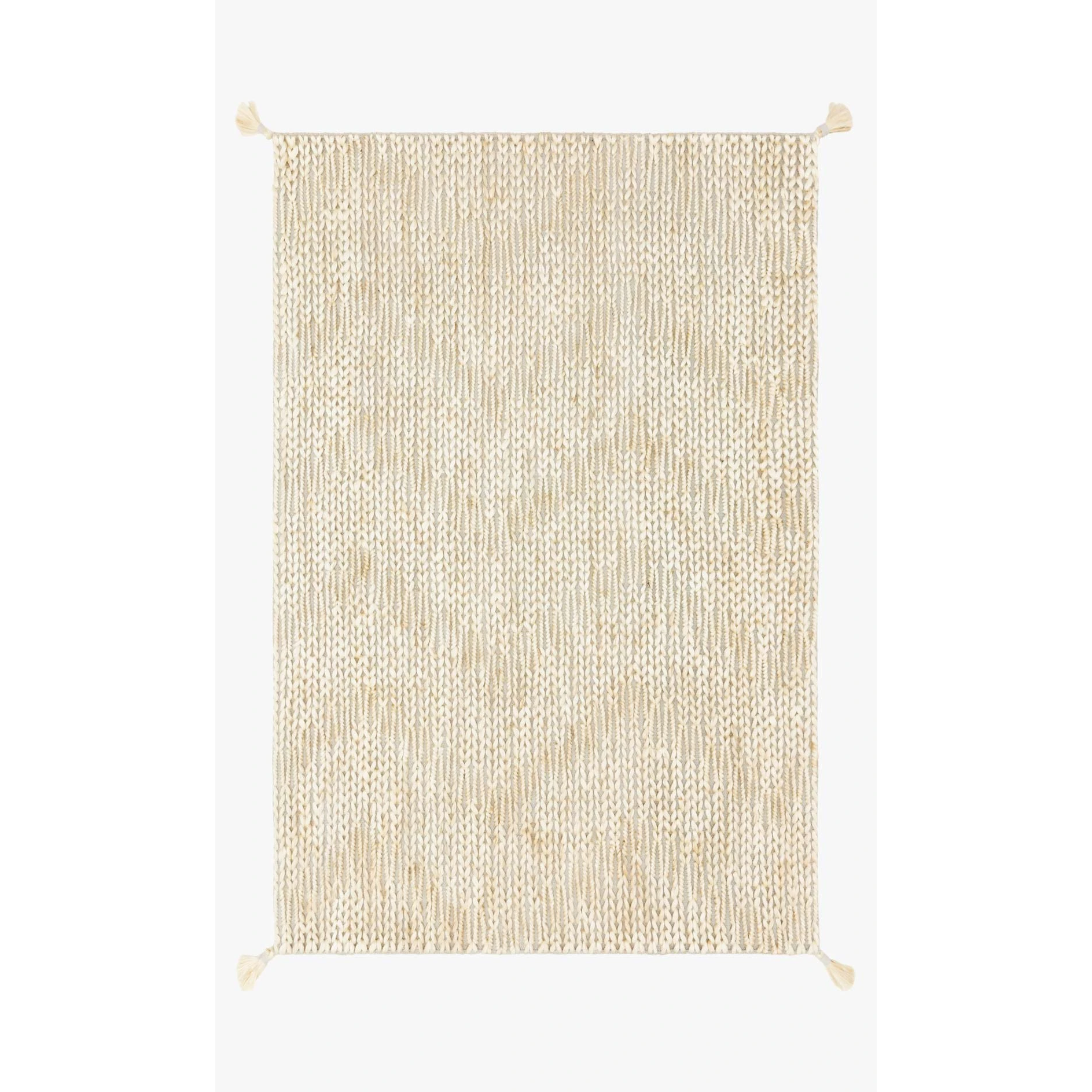 Justina Blakeney Playa Rug Collection - Ply-01 Grey/Ivory-Loloi Rugs-Blue Hand Home