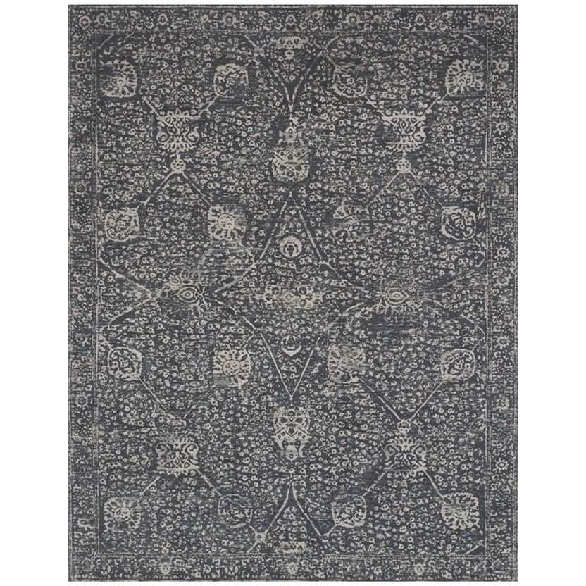 Joanna Gaines Tristin Rug Collection - RT-01 Charcoal/Charcoal