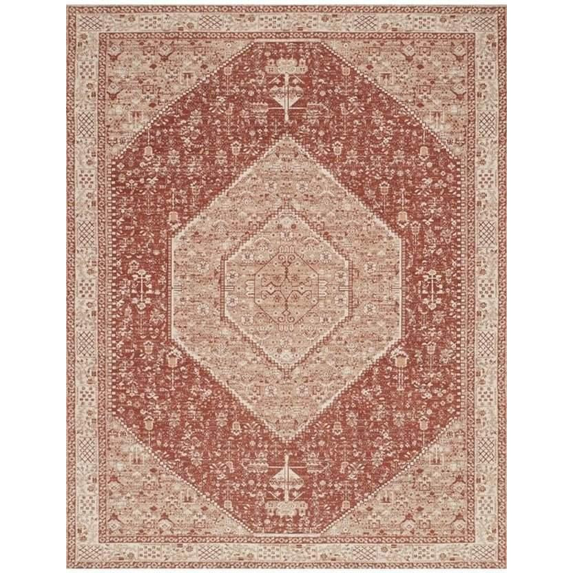 Joanna Gaines Tristin Rug Collection - RT-02 Brick/Bone