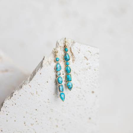 Renaissance Earrings-Joya-Blue Hand Home