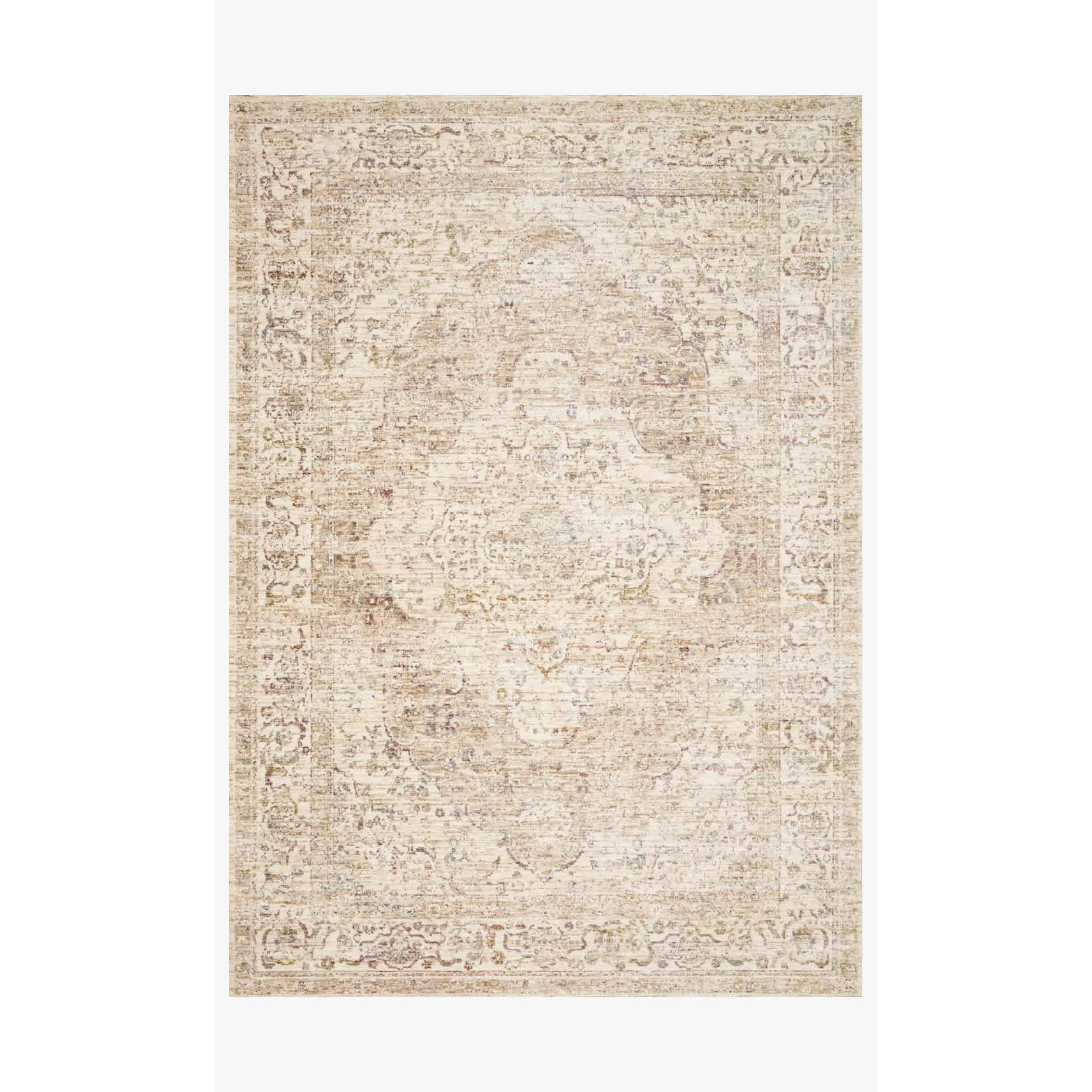 Revere Rugs by Loloi - REV-04 Ivory / Berry-Loloi Rugs-Blue Hand Home
