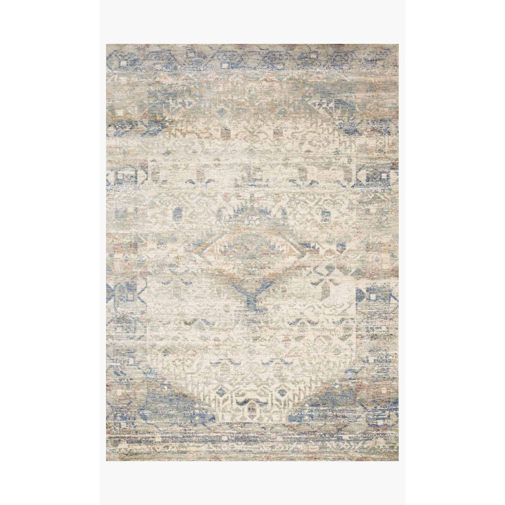 Revere Rugs by Loloi - REV-06 Ivory / Blue-Loloi Rugs-Blue Hand Home