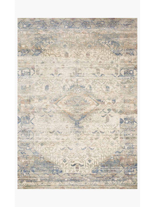 Revere Rugs by Loloi - REV-06 Ivory / Blue