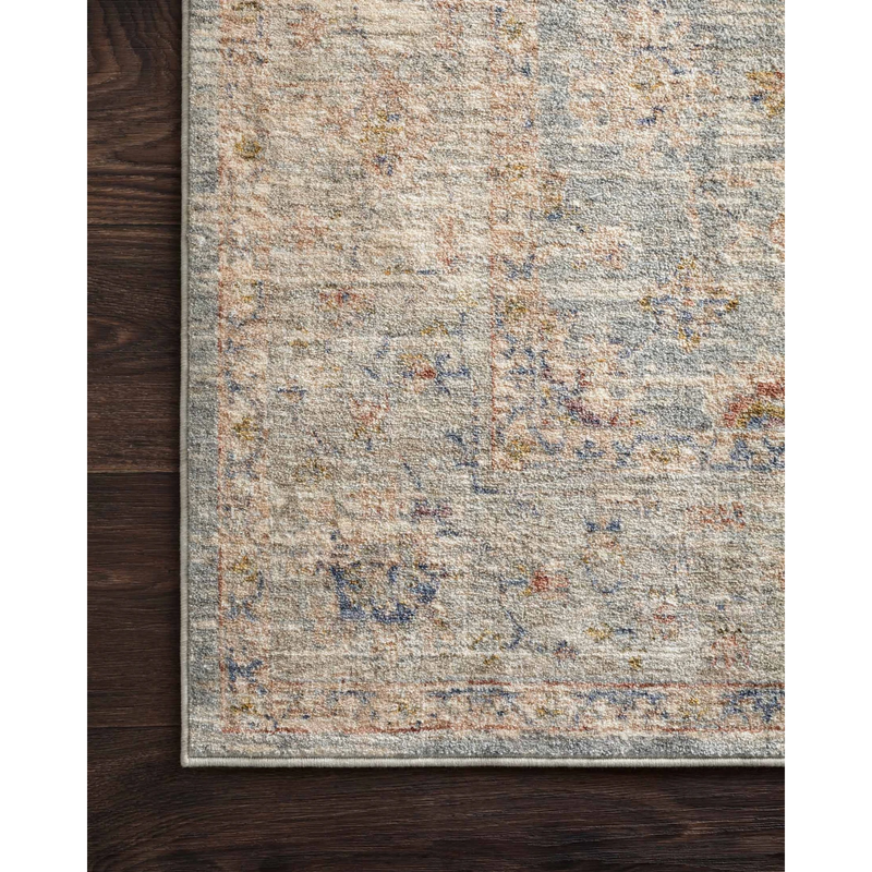 Revere Rugs by Loloi - REV-09 Light Blue / Multi-Loloi Rugs-Blue Hand Home