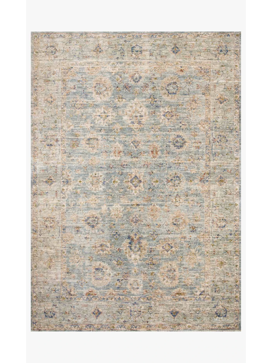 Revere Rugs by Loloi - REV-09 Light Blue / Multi