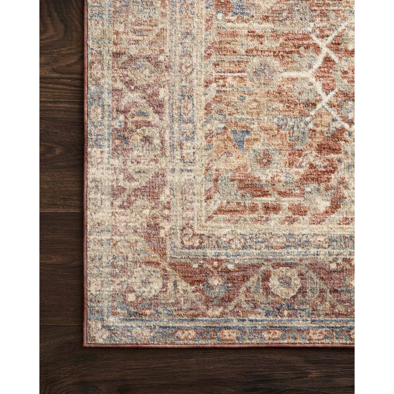 Revere Rugs by Loloi - REV-07 Terracotta / Multi-Loloi Rugs-Blue Hand Home