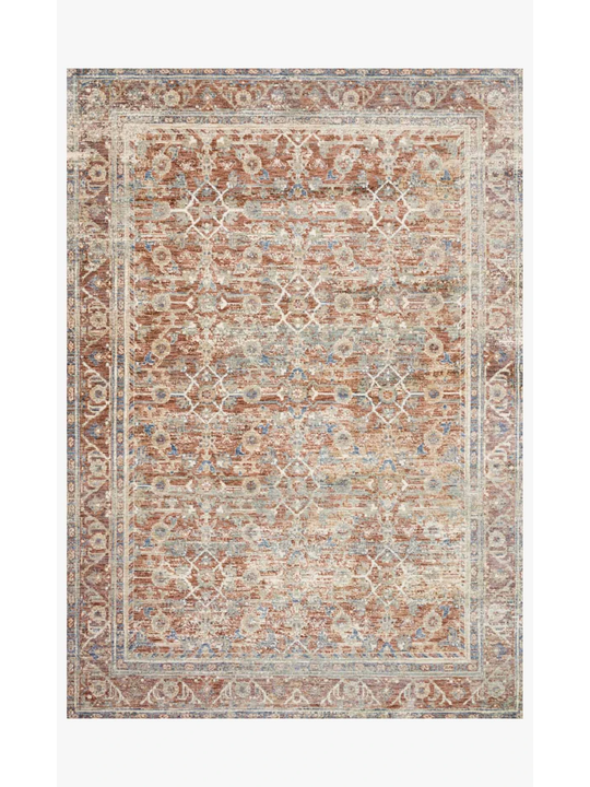 Revere Rugs by Loloi - REV-07 Terracotta / Multi