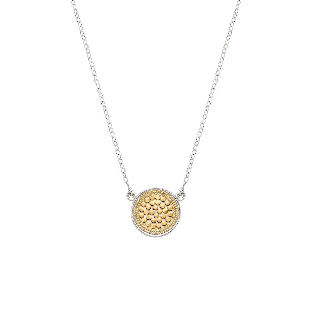 Anna Beck Reversible Disk Necklace-Anna Beck Jewelry-Blue Hand Home