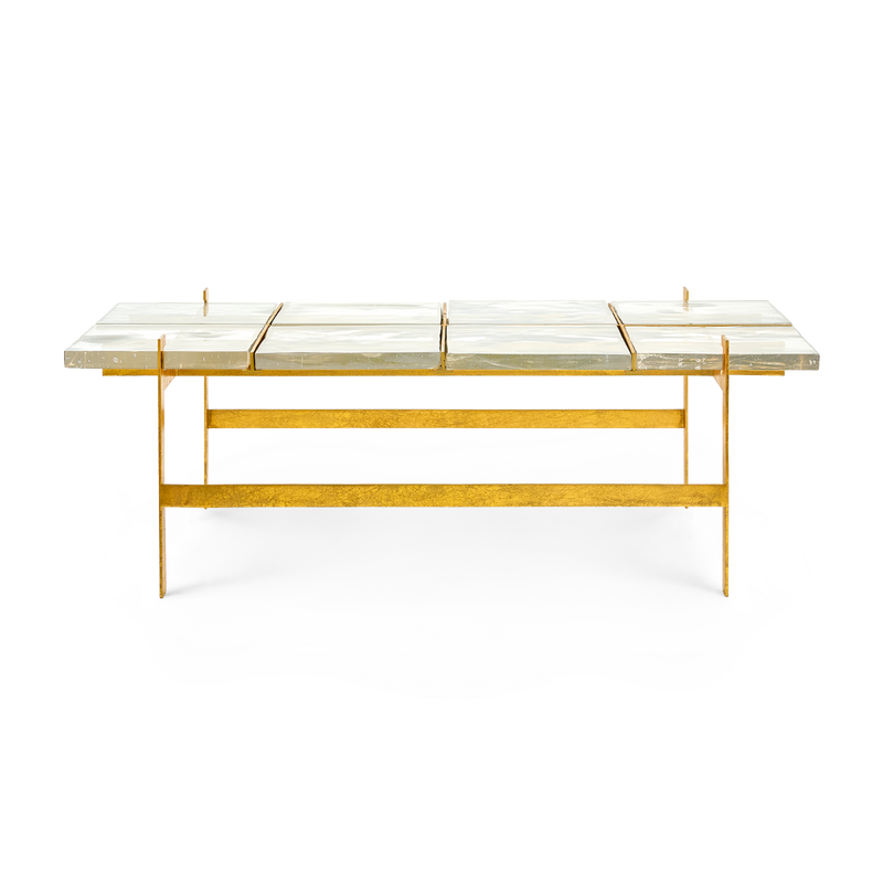 Bungalow 5 - ROMEO COFFEE TABLE, GOLD-Bungalow 5-Blue Hand Home