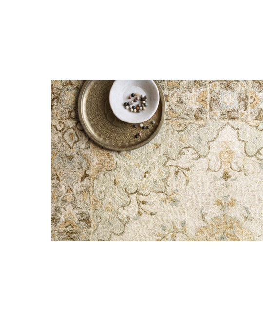 Joanna Gaines Ryeland Rug Collection - RYE-03 Ivory/Multi