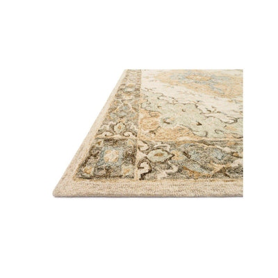 Joanna Gaines Ryeland Rug Collection - RYE-03 Ivory/Multi-Loloi Rugs-Blue Hand Home