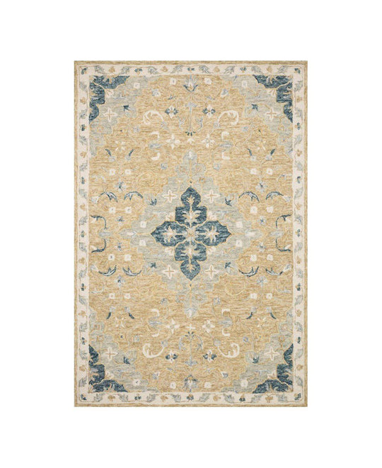 Joanna Gaines Ryeland Rug Collection - RYE-04 Wheat/Multi