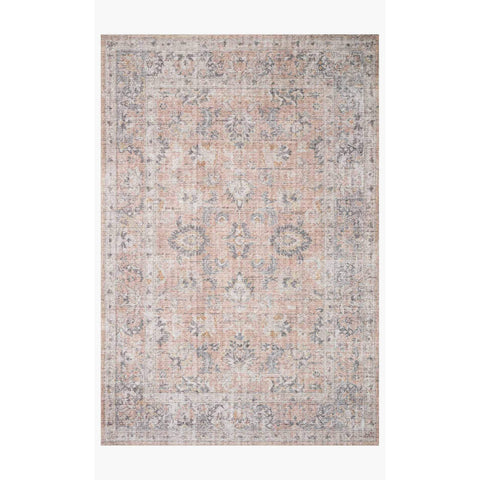 Skye Rug Collection by Loloi -Sky 01-Blush/Grey