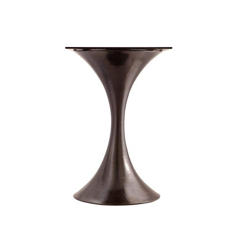 "Bungalow 5 - STOCKHOLM BRONZE CENTER DINING TABLE BASE (PAIRS WITH 36"" TOP, SOLD SEPARATELY) in BRONZE - Blue Hand Home"
