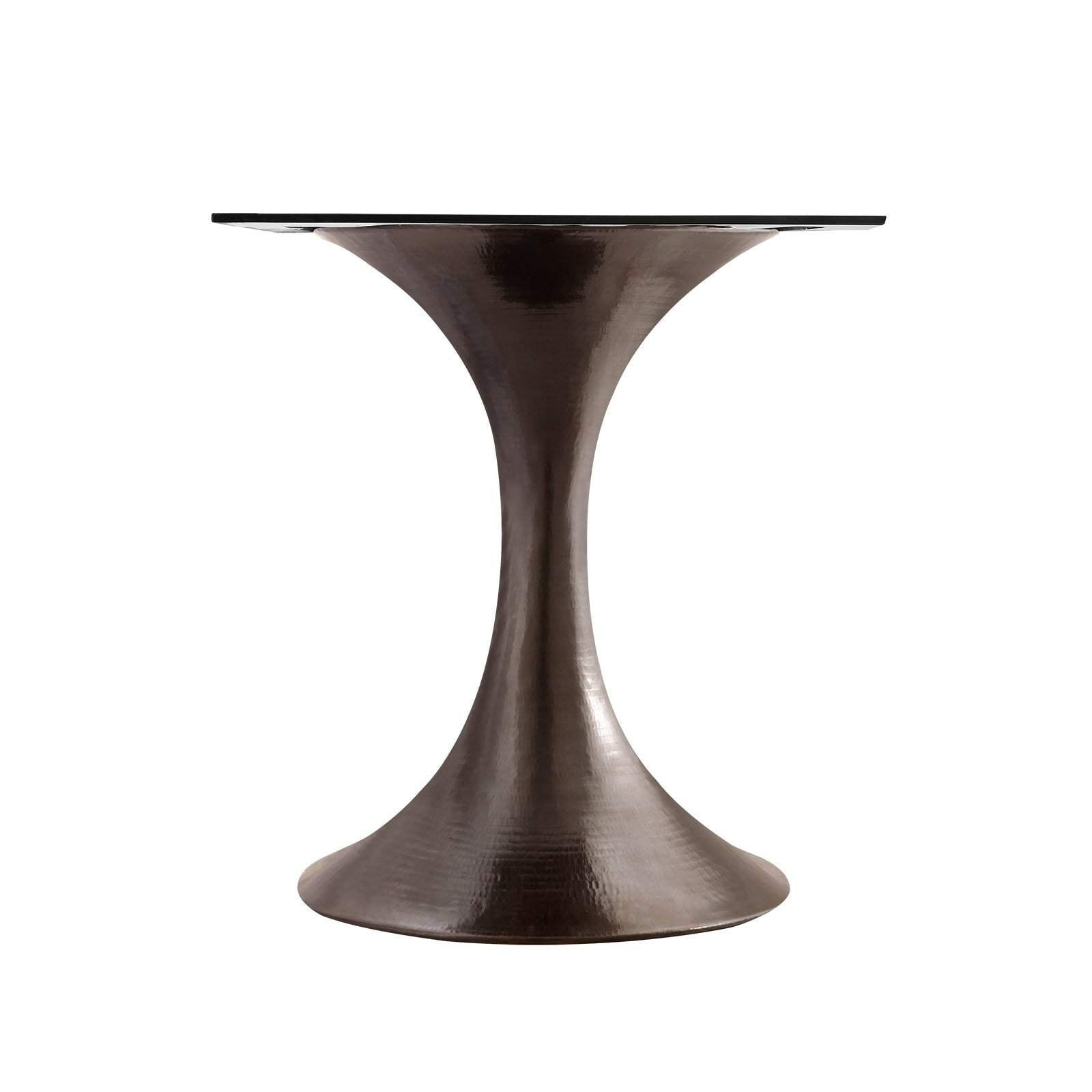"Bungalow 5 - STOCKHOLM BRONZE DINING TABLE BASE (PAIRS WITH 52"" & 60"" TOP, SOLD SEPARATELY) in BRONZE"