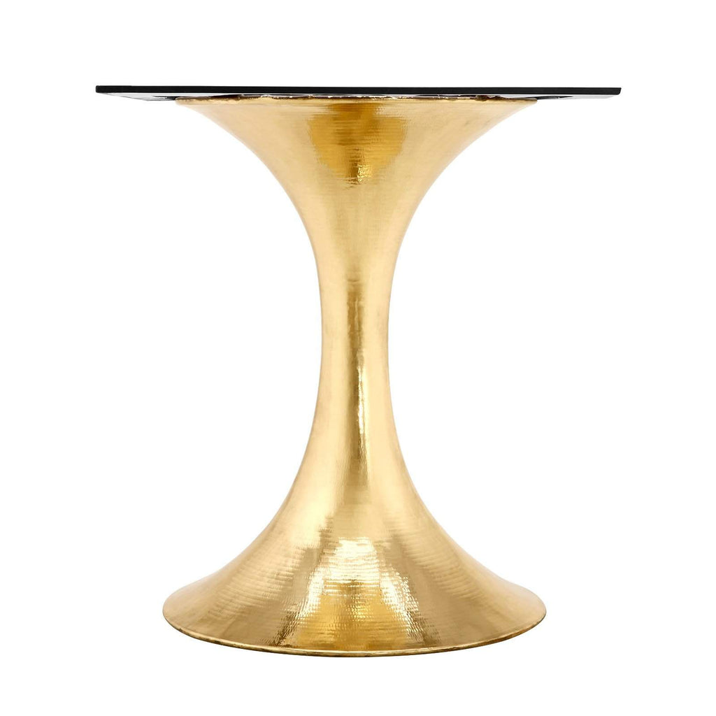 "Bungalow 5 - STOCKHOLM BRASS DINING TABLE BASE (PAIRS WITH 52"" & 60"" TOP, SOLD SEPARATELY) in BRASS-Bungalow 5-Blue Hand Home"