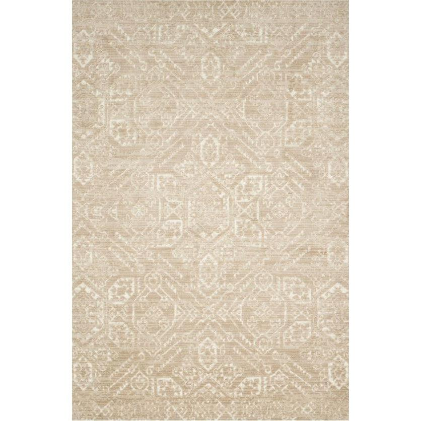 Joanna Gaines Of Magnolia Home Lotus Rug Collection - Sand/Ivory