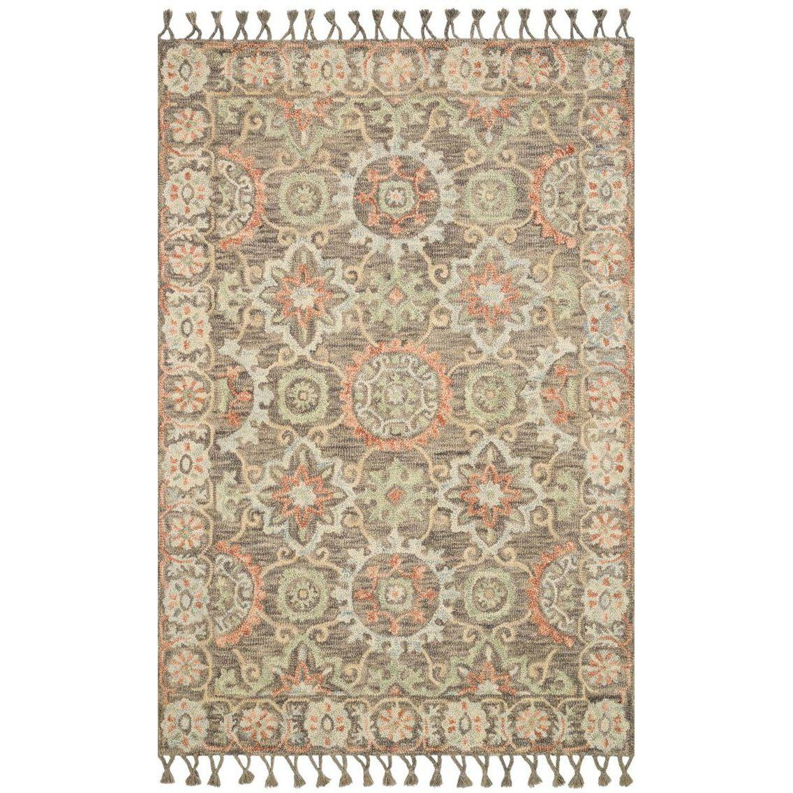 Joanna Gaines Kasuri Rug Collection - Sand/Multi-Loloi Rugs-Blue Hand Home
